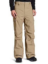 cheap -quik snow men's snow surface jacket, brown, large