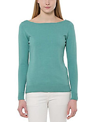 cheap -women's long sleeve jumper, turquoise, 14 (manufacturer size: 40)