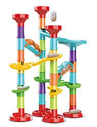 cheap -50pcs Large Particle Ejection Maze Diy Changeable Slide Ball Building Blocks Children's Educational Toys