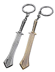 cheap -creative key clasp porp for key chain super hero costume xmas gift (sword)