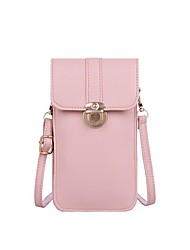 cheap -Women's Bags Crossbody Bag 2021 Daily Black Red Blushing Pink Light Gray
