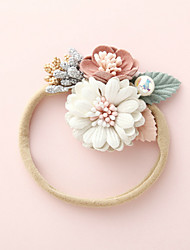 cheap -1pcs Infant Girls' Active / Sweet Sun Flower Floral Flower Nylon Hair Accessories White / Blushing Pink / Dusty Rose One-Size