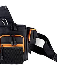 cheap -Fishing Tackle Bag Tackle Box Waterproof 2 Trays Terylene