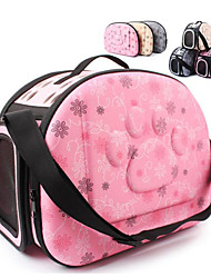 cheap -Cat Dog Carrier Bag Travel Backpack Dog Carriers Handbag Travel Tote Shoulder Bag Portable Breathable Comfortable Love Foam Yellow Pink Gray
