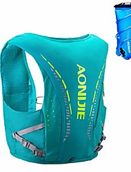 cheap -hydration pack backpack 10l hydration vest ultra marathon running vest backpack for outdoor running cycling hiking (light green - with 2l tpu water bladder, l/xl - 31.5-37.8in)