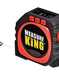 cheap -3 in 1 Measuring King Digital Tape Measure String Sonic Roller Mode Laser Tool Heat