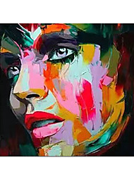 cheap -100% Hand-Painted Contemporary Art Oil Painting On Canvas Modern Paintings Home Interior Decor Portrait Art Painting Large Canvas Art(Rolled Canvas without Frame)