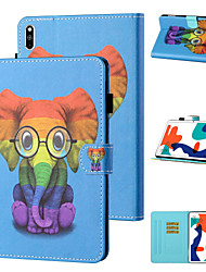 cheap -Case For Huawei Tablets Huawei Mediapad T5 10 / MatePad T8 Shockproof Full Body Cases Animal / Cartoon TPU