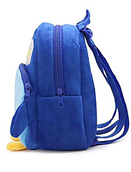 cheap -cute toddler baby backpack 3d plush toy bag for 1-3 years old (blue penguin)