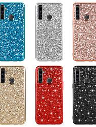 cheap -Phone Case For OPPO Back Cover Oppo Realme 5 / Realme C3 Glitter Shine Glitter Shine TPU