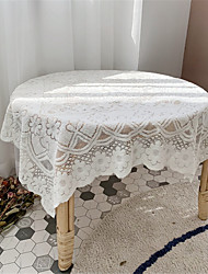 cheap -90*90cm Lace Tablecloth Decorative Fabric Table Cover for Outdoor and Indoor Use