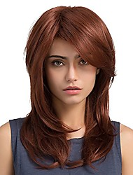 cheap -Women Long Straight Synthetic Hair Full Wigs Pony Washable Breathable Adjustable to Any Head circumference