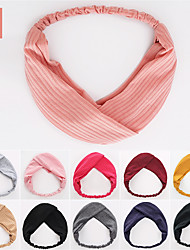 cheap -Headbands Hair Accessories Fabric Wigs Accessories Women's 7 pcs pcs cm Casual / Daily / Festival Stylish / Sweet Fashionable Design