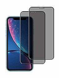 cheap -privacy screen protector for iphone xs max/iphone 11 pro max 6.5-inch, anti spy tempered glass film (2 pack)