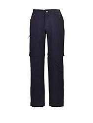 cheap -killtec men's berton functional outdoor hiking trousers with zip-off legs, dark navy, 50