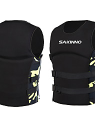 cheap -Life Jacket Swimming Neoprene EPE Foam Swimming Surfing Water Sports Life Jacket for Adults / Camo / Camouflage