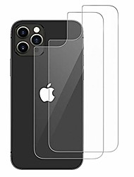 cheap -back screen protector for iphone 12 pro max [2-pack], anti scratch, no bubble, anti fingerprint, case friendly, hd clarity, durable back tempered glass screen protector for iphone 12 pro max