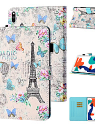 cheap -Case For Huawei Tablets Huawei Mediapad T5 10 / MatePad T8 Shockproof Full Body Cases Word / Phrase / Butterfly TPU