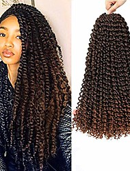 cheap -passion twist hair 6packs 18inch braids for water wave crochet braiding hair synthetic fiber natural twist braiding hair 22 strands/pack (18inch passion twist, t30#)