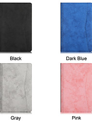 cheap -Phone Case For Samsung Galaxy Full Body Case Samsung Galaxy Tab A7 2020 T500/505 Shockproof Solid Colored PU Leather TPU