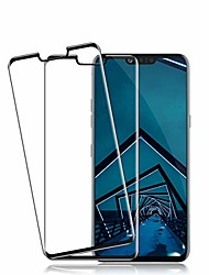cheap -lg g8 thinq screen protector by , [2 pack] hd clarity full coverage premium tempered glass, anti - scratch, case friendly, 3d touch accuracy, anti-bubble film for lg g8 thinq (transparent)