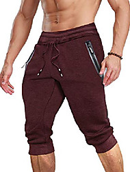 cheap -Men's Sportswear Others Pants N / A Calf-Length Wine Red Black Blue