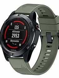 cheap -1 Pcs Watch Band strap for fenix 6,fenix 6 pro,garmin fenix 5,fenix 5 plus,22mm width easy fit soft silicone watch strap compatible garmin fenix 5/forerunner 935/approach s60/quatix 5