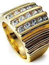 cheap --18k gold filled men's wedding engagement ring band r117 (10)