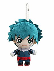 cheap -my hero academia deku plush dangler key chain backpack charm pendants