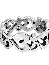 cheap -aum or om prayer sign around band .925 sterling silver ring (13)