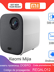 cheap -Xiaomi Mijia Dlp Micro Projector Portable 1920x1080 Supports 4k Video Projector Wi-fi Led Full Hd Tv For Home Theater