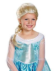 cheap -girls frozen elsa wig standard