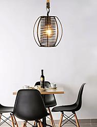 cheap -1-Light 19 cm Pendant Light Hemp Rope Nordic Style 220-240V