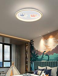 cheap -50 cm LED Ceiling Light Modern Lovely Two Hands Design Round Square Kids' Bedroom Flush Mount Lights Metal 220-240V