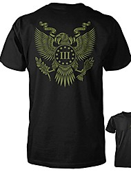 cheap -three percenter shirt - the great seal of the iii percent | back print - patriotic 2a lifestyle