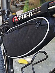 cheap -mountain bike frame bag cell phone pouch bag bike front top tube saddle bag mountain bike cycling triangle bag bicycle tool bag outdoor mountain road bicycle front bag pouch