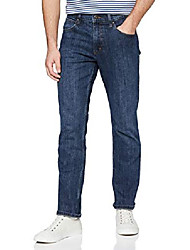 cheap -herren authentic regular jeans, blau (blua dark stone 098), 32w / 30l
