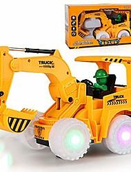 cheap -child electric charging excavator toy light wheel shovel boy vibrato same paragraph toy car environmental protection fully automatic universal construction vehicle bulldozer