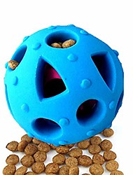 cheap -dog toy balls, interactive iq treat ball durable dog chew toys food dispensing toys, non-toxic tricky treat ball food dispenser puzzle toy, tooth cleaning rubber pet ball for small medium dogs cats