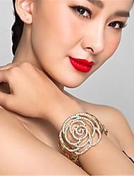 cheap -Women's Bracelet Classic Blessed Stylish Rhinestone Bracelet Jewelry Gold For Wedding Daily
