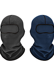 cheap -Skull Caps Balaclava Solid Color Windproof Warm Breathability Soft Thick Bike / Cycling Blue Grey Winter for Unisex Adults' Outdoor Exercise Winter Sports Outdoor Bike / Cycling Recreational Cycling
