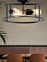 cheap -3-Light 40 cm Mini Style Flush Mount Lights Metal Painted Finishes Modern Contemporary 110-120V / 220-240V / E26 / E27