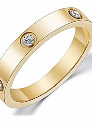 cheap -love ring for gift 18k gold plated titanium steel for women ring best gift for wedding (6)