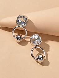 cheap -Drop Earrings Geometrical Fashion Fashion Earrings Jewelry Silver For Date Festival