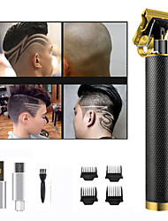 cheap -New USB Rechargeable Hair Clipper Push White Hair Clipper Upgrade Electric Hair Clipper Electric Hair Clipper