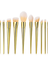 cheap -Professional Makeup Brushes 12pcs Soft Full Coverage Comfy Plastic for Makeup Tools Eyeliner Brush Blush Brush Foundation Brush Makeup Brush Lip Brush Eyebrow Brush Eyeshadow Brush