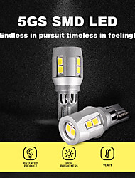 cheap -2Pcs LED Car Reversing Lights Autolamp Canbus 2835SMD Car Exterior Bulbs Led 12V Reverse lamps White Light Car Led Light Bulbs Automotive Silver