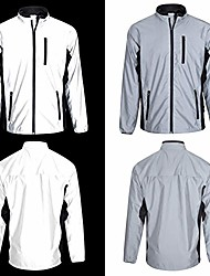 cheap -high visibility be totally reflective silver jacket - reflective and high vis xl 44-46 inches