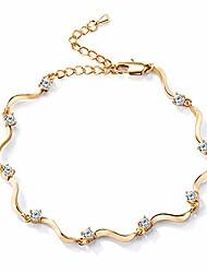 cheap -14k gold anklets for women cute zircon heart ankle bracelets for tenn girls boho beach foot bracelet jewelry gifts