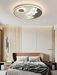 cheap -40/50 cm LED Ceiling Light Modern Flush Mount Lights Bedroom Living Room Acrylic LED Nordic Style 220-240V